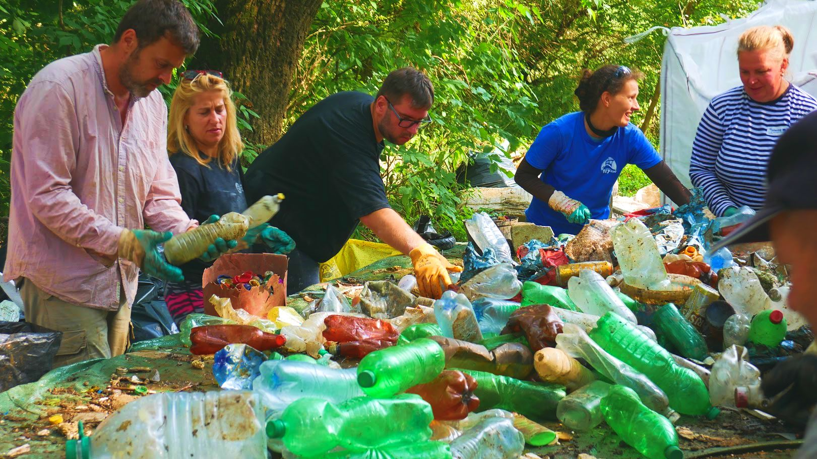 OVER 100 VOLUNTEERS, BODROG RIVER AND MORE THAN 6 TONS OF WASTE